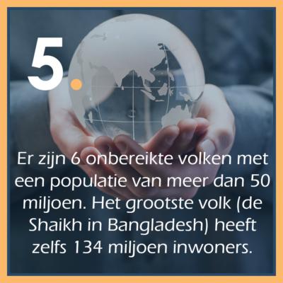 Zending 5 feiten quote 5