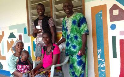 Vijf nieuwe dopelingen in Guinee