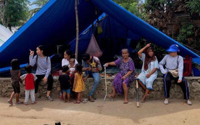 #BELIGHT: Kinderen helpen na ramp in Sulawesi