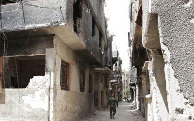 Lokale CAMA gemeente tot zegen in Afrin, Syrië
