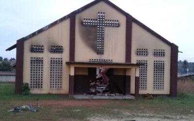 CAMA kerk in Guinee in brand gestoken – Vervolging in West-Afrika neemt toe