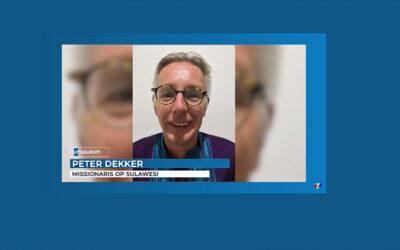Sulawesi: Interview CAMA zendeling Peter op Family7