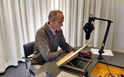 Directeur Boudewijn op de radio