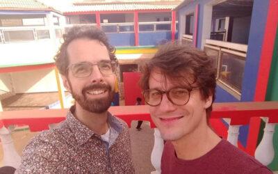 Hanne de Vries met Love Revolution in Senegal