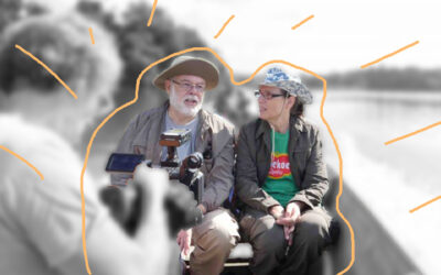 Marco en Marjolein op tv bij EO Metterdaad