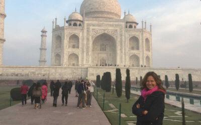 Paulien Vervoorn coacht voor India met preek tandoori