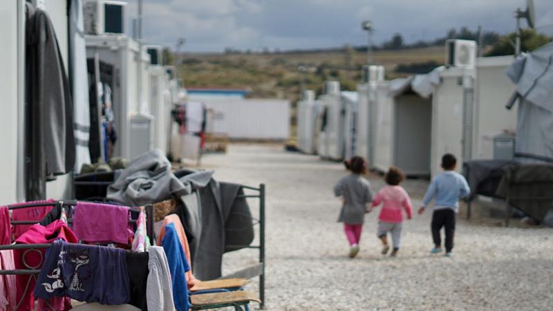 Vluchtelingenkamp Italië