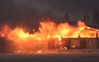 Dringend gebedsverzoek voor de CAMA-kerk in Paradise (California, VS) na verwoestende bosbranden