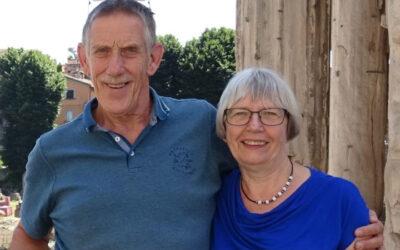 Zendelingen Arjo & Adrie de Vroome na 35 jaar(!) met pensioen