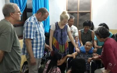 De eerste maanden in Cambodja – Jacques en Maudy