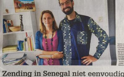 Zending in Senegal niet eenvoudig