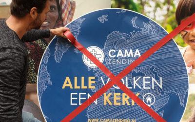 Zendingsorganisatie CAMA Zending wil stoppen met zendingswerk