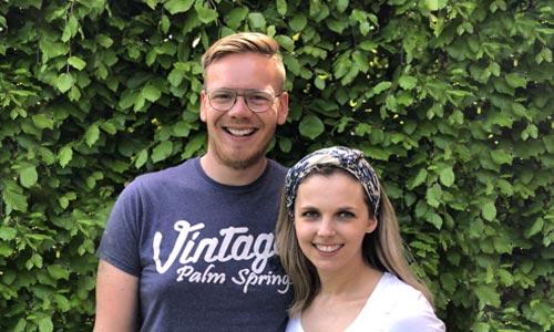 Martijn en Rebecca