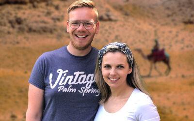 Martijn en Rebecca: 'Afscheid nemen is lastig'