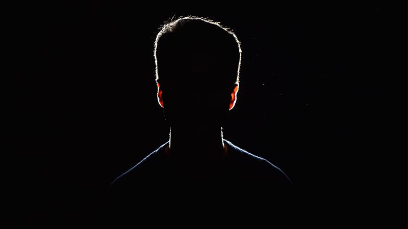 Zendelingen silhouette