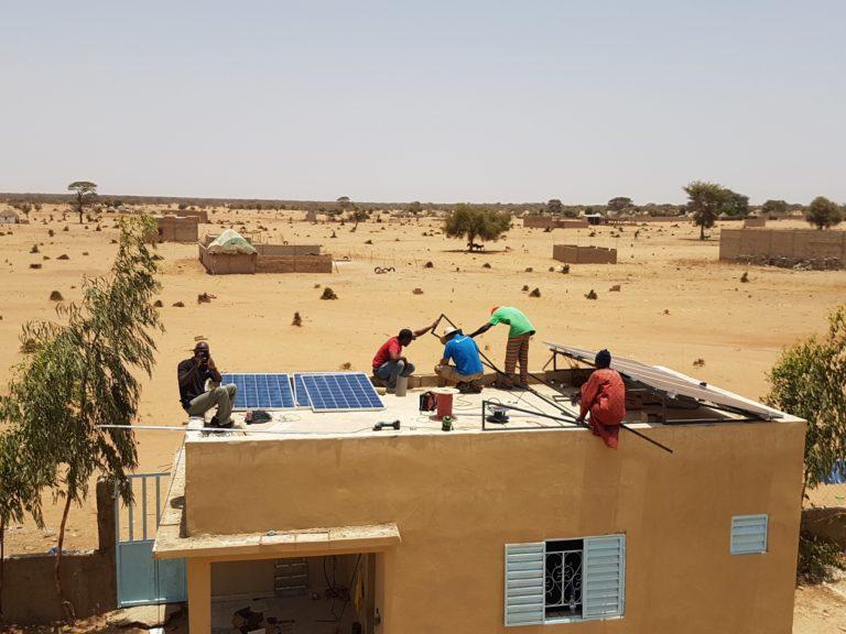 Nieuwe bestemming zonnepanelen Afrika