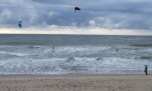 Kitesurfen voor Hoorn van Afrika