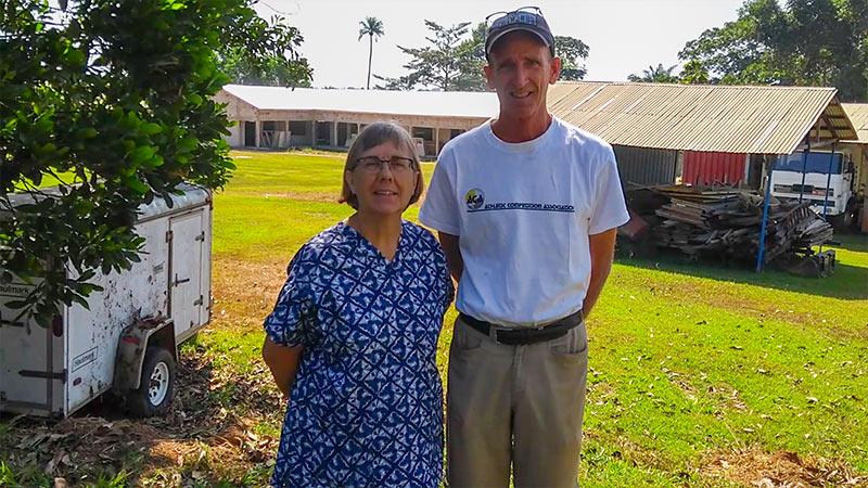 Staatsgreep Guinee zorgt voor annuleren vlucht Jon en Anja Erickson