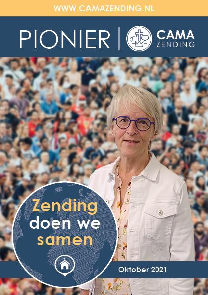 Pionier Zending doen we samen cover met Hedi Vijge